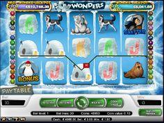 Výherné automaty Icy Wonders - Dávku snehu a ľadu prinášajú výherné automaty Icy Wonders od NetEnt, s ktorými zažijete vzrušujúce chvíle na severnom póle. Sú navrhnuté v chladnom štýle, hra má 5 valcov a 30 výherných línií, valce sú umiestnené na ľadových kryhách. #HracieAutomaty #VyherneAutomaty #Jackpot #Vyhra #Icy Wonders - http://www.hracie-automaty.co/sloty/vyherne-automaty-icy-wonders