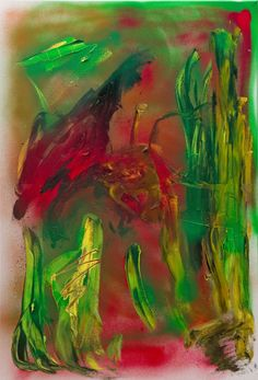 oil and spray paint on pre-made canvas stretcher Oil, Canvas, Gallery, Artwork, Painting, Places, Tela, Work Of Art, Auguste Rodin Artwork