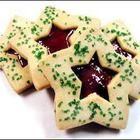 Foto da receita: Biscoito estrelas de Natal