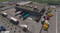 Company Addon mod for adds trucks to base of companies! Trucks change, their position also changes! Works with mod Animated gates in companies! In the mod manager connect above mod Animated. Audi Tt Sport, Romania Map, Bus Games, Luxury Bus, Volvo S60, Country Maps, City Car, Simulation Games, Ford Focus