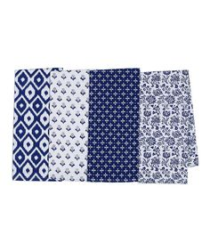 Design Imports Market Dish Towel - Set of Four | zulily