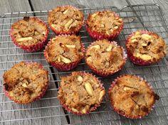Appel kaneel muffins (Paleo)