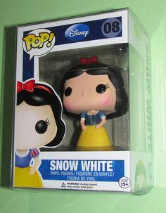 Funko POP Disney SNOW WHITE 08 Vinyl Figure Rare Retired w Free Protector