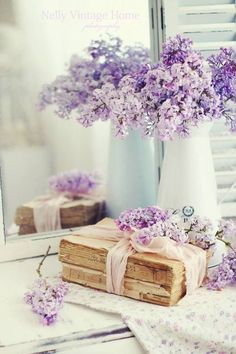 Love this #decoration and #lilac