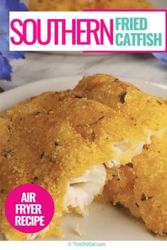 My Air Fryer Southern Fried Catfish will knock your socks off with a perfectly crunchy Homemade Louisiana Style Fish Fry Mix.