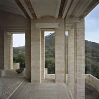 Jørn Utzon house, Mallorca, Spain.