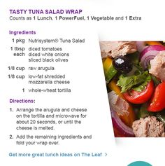 Get more great lunch ideas on The Leaf