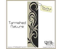 Peyote Pattern for bracelet Tarnished by VikisBeadingPatterns, $6.50