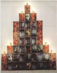 Christian Boltanski /  Monument   1986. Mixed media. 64 x 54 in. The Carol and Arthur Goldberg Collection.