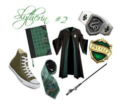 """""""Slytherin: In class"""" by the-shadow371 on Polyvore featuring Converse"""