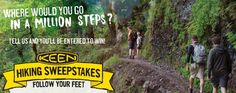 Keen Million Steps Official Sweepstakes