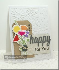 Heart Balloons, On the Diagonal, Peaceful Wildflowers, Together Forever, Christmas Greetings Die-namics, Floral Fusion Cover-Up Die-namics, Pierced Traditional Tag STAX Die-namics, Wildflowers Die-namics - Barbara Anders #mftstamps