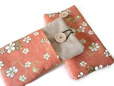 Fabric Iphone 6 sleeve / Iphone 5 sleeve / iPod Touch by Driworks