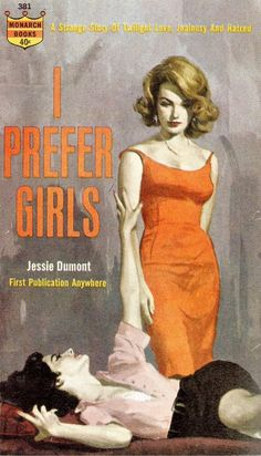 Lesbian pulp... so awesome.