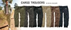 Cargo trousers by Next