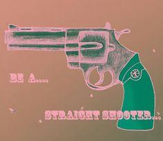 Graphic Art. Gun. IsthisART