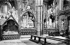Tombs of royalty in Westminster Abbey, this week's Cemetery of the Week.