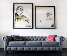 Living Room Wall Poster