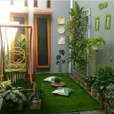 Small garden patio ideas apartments 58 Ideas for 2019 Backyard Patio, Backyard Landscaping, Vertikal Garden, Small Outdoor Patios, Garden Design, House Design, Interior Garden, Home Design Plans, Balcony Garden