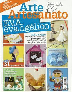 MOLDES DE E.V.A: Amiga da Educação 2: REVISTA ARTE ARTESANATO E.V.A EVANGÉLICO NR 2.