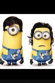 lol. i can't stand crosby or malkin.. but this is hilarious!! Evegeni Malkin and Sidney Crosby minions