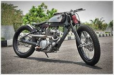 "DariztDesign's 16th Attempt - ""Elang Langit"" - Pipeburn - Purveyors of Classic Motorcycles, Cafe Racers & Custom motorbikes"
