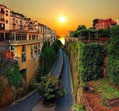 Sorrento, Italy— 与 Dory Baracena
