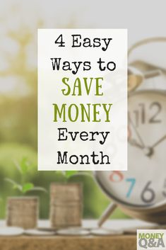 Most people do not think that they have enough money to save for retirement. But, here are a few easy ways to save money every month looking at your budget.