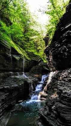 Watkins Glen park, New York #nature #photography #travel  #wiljoelart