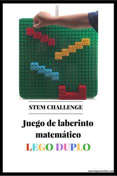 Juego de laberinto matemático LEGO DUPLO