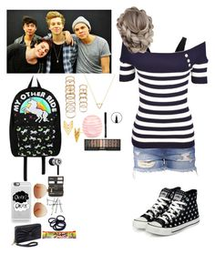 """Hanging with 5sos"" by peacegirl-586 ❤ liked on Polyvore featuring Theory, yeswalker, Loungefly, Forever 21, Wanderlust + Co, Gorjana, Casetify, Tommy Hilfiger, River Island and Beats by Dr. Dre"