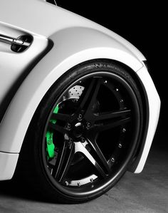 Supercharged M3 // Green breaks