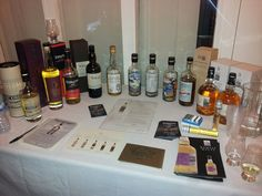 Here's our #whisky stand at #WhiskyBirmingham featuring Compass Box, Tomatin, Master of Malt, Chichubu, Karuizawa, Port Askaig and Weymss Malts! Awesome hobby!