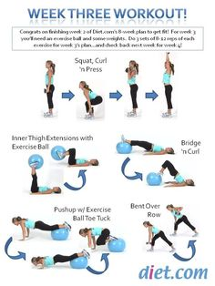 spring fitness challenge week 3