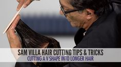How many of you have clients asking for cuts with angled fronts -- hair that can move back away from the face? Sam facilitates this look with a very simple t...