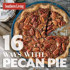 Thanksgiving dinner isn't complete without a pecan pie. Serve classic pecan pie or get creative with these delicious variations.