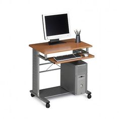 Mayline 945 Mobile home or office computer desk.  FREE shipping in Canada at Ugoburo.ca