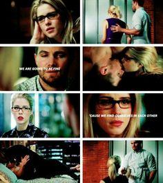Oliver x Felicity #arrow #Olicity tumblr