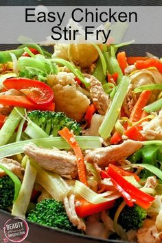 Easy Stir Fry - Beauty Through Imperfection