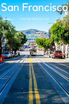 Have one day in San Francisco? Explore the city on foot with this walking tour itinerary of major sites and charming neighborhoods.
