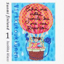 Verkkokoukkunen - VIRKKUKOUKKUNEN - Postimerkit Postage Stamps, Finland, Poems, Thoughts, Stamps, Door Bells, Poetry, Verses, Poem
