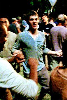 Dylan O´Brien - The Maze Runner cast gif