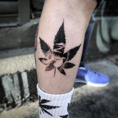 Hot Weed Tattoo Designs – Legalized Ideas in 2019 Hi Here we have great wallpaper about pot tattoo designs. We wish these photos can be . Smoke Tattoo, Weed Tattoo, Plant Tattoo, Cover Up Tattoos, Small Tattoos, Tattoos For Guys, Cool Tattoos, Hand Tattoos, Flower Tattoos