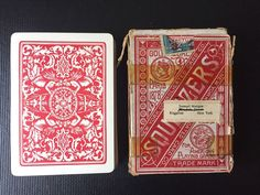 Squeezers No. 35 Playing Cards NY Consolidated Card Co. of NY in box | eBay