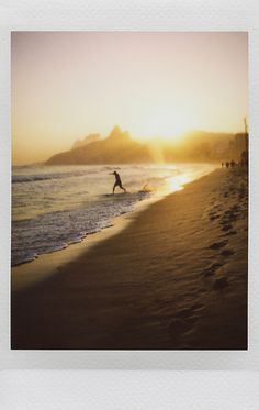 Arpoador, Ipanema, Rio, Fujifilm Instax Mini 90