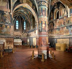 The Trinity Chapel Lublin Castle, paintings the beginning of the century. Tatra Mountains, Carpathian Mountains, Places To Travel, Places To Go, Poland Travel, Mosques, Krakow, 15th Century, Old Pictures
