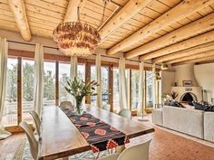Authentic Santa Fe Adobe Home w/ Desert Views - Eldorado at Santa Fe Santa Fe, Adobe House, Bedroom Night, Heating And Air Conditioning, Fes, Mountain View, Great Places, Pergola, Courtyards