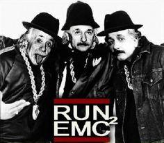 einstein + run dmc