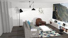 Dans un pavillon à Élancourt (78), une chambre d'amis multifonction, par Tiphanie Knafo, notre architecte d'intérieur de Conflans-Sainte-Honorine