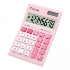 Canon Calculator LS-88Hi III Pastel Pink | MNC Shop - Home Shopping Indonesia